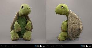 "FedEx ""Tortoise & the Hare"" final tortoise design"