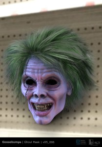 Goosebumps 2 ghoul mask design