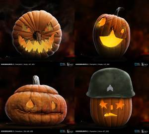 Goosebumps 2 pumpkin designs