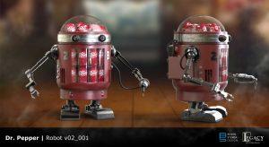 Dr Pepper robot preliminary design