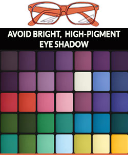 Avoid-bright-eyeshadow-when-wearing-glasses