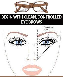 Begin-with-clean-tweezed-eyebrows