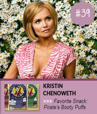 Kristin-Chenoweth-Favorite-Snack-Food