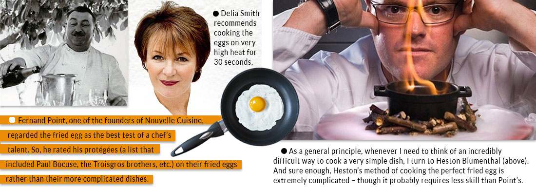 Fernand-Point-Delia-Smith-Heston-Blumenthal-talk-about-cooking-fried-eggs
