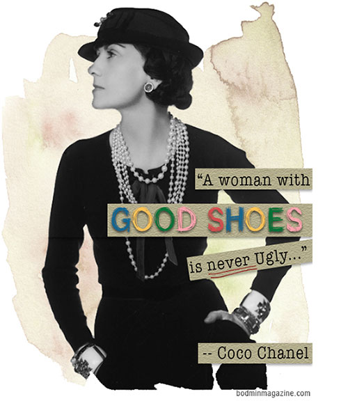 Quote-about-shoes-by-Celebrity-Coco-Chanel