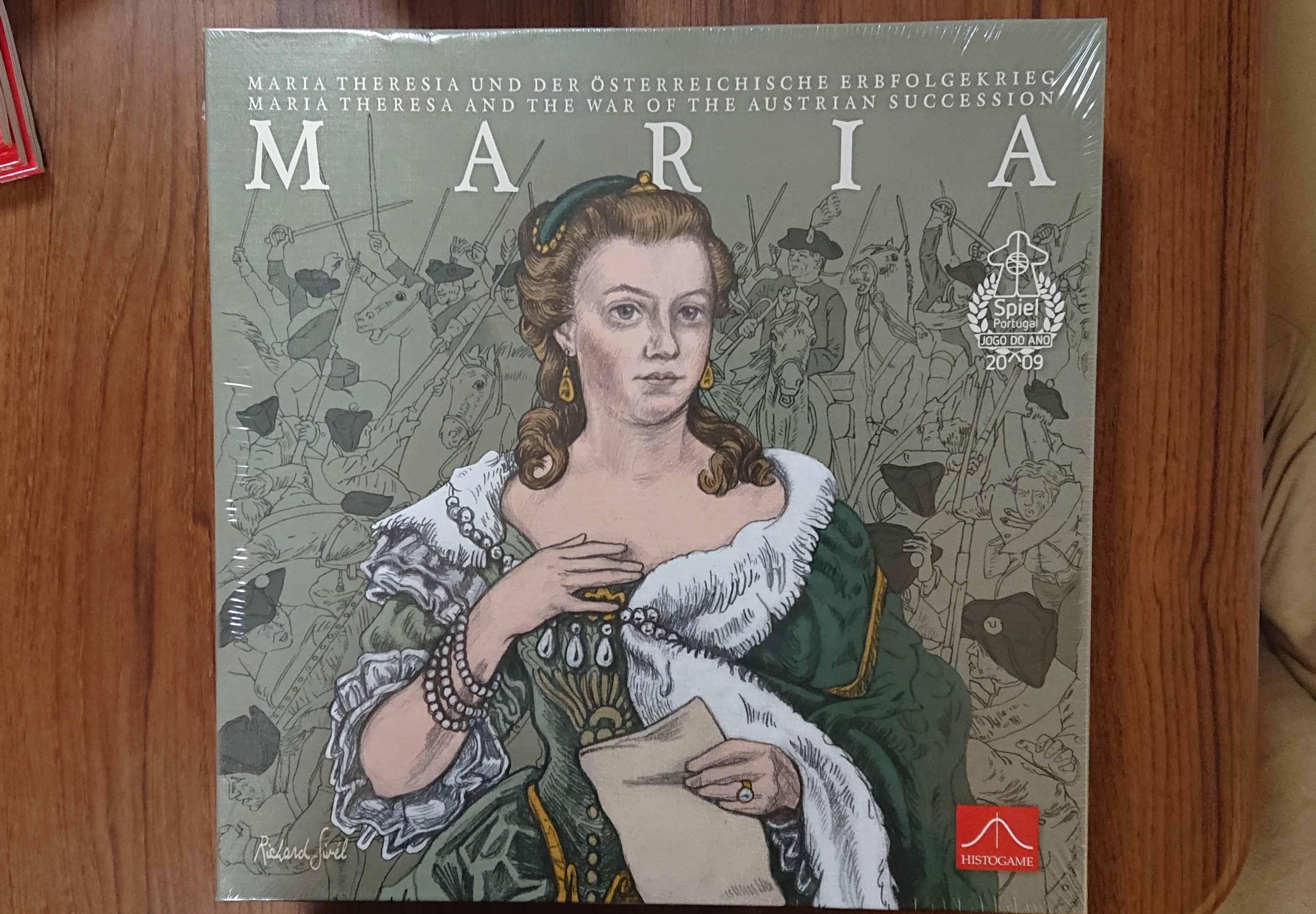 マリア(MARIA) ウォーゲームというボードゲームについて