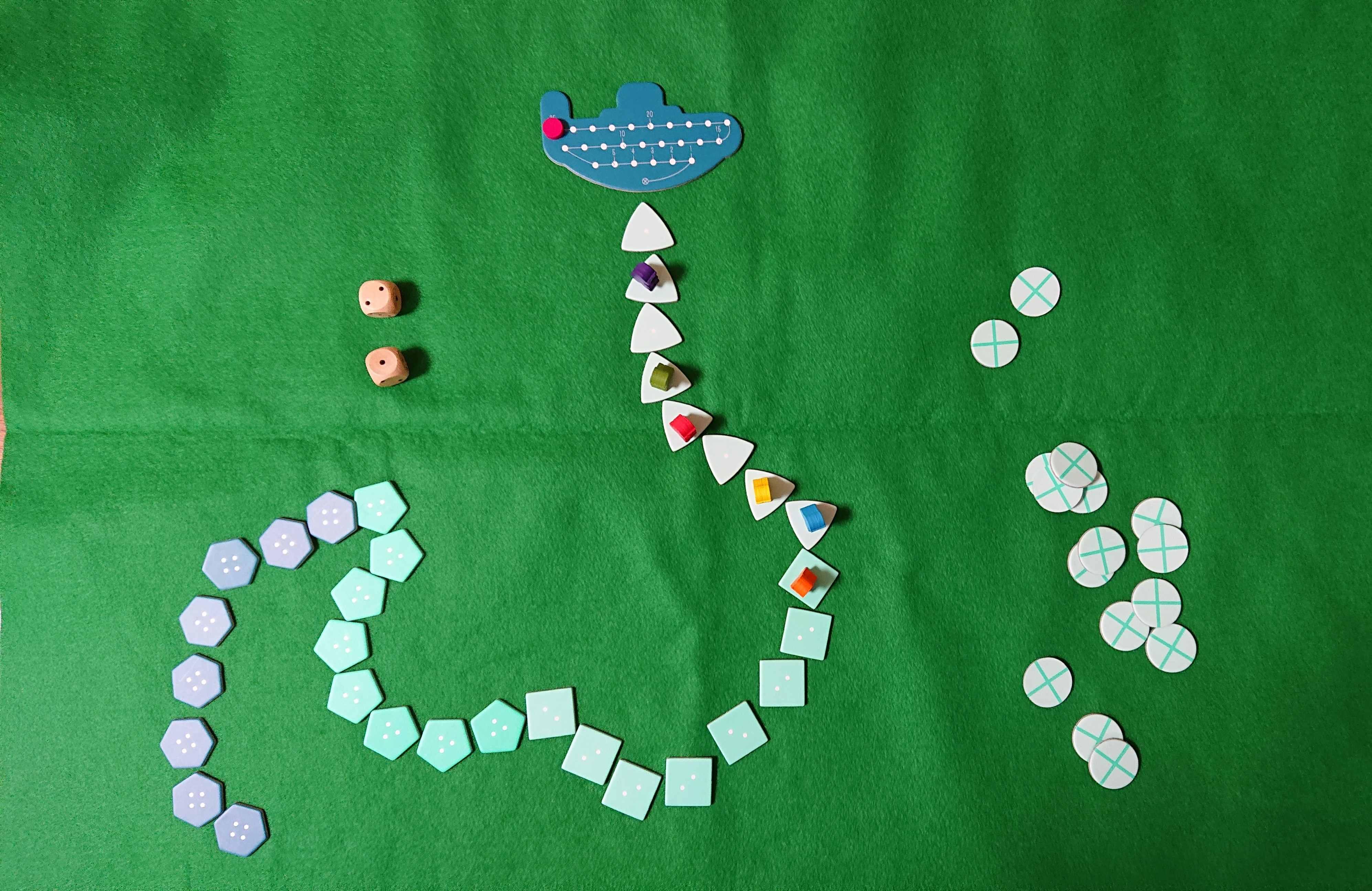 海底探検 初心者も楽しめるボードゲーム 海の藻屑にならないように! ルール説明