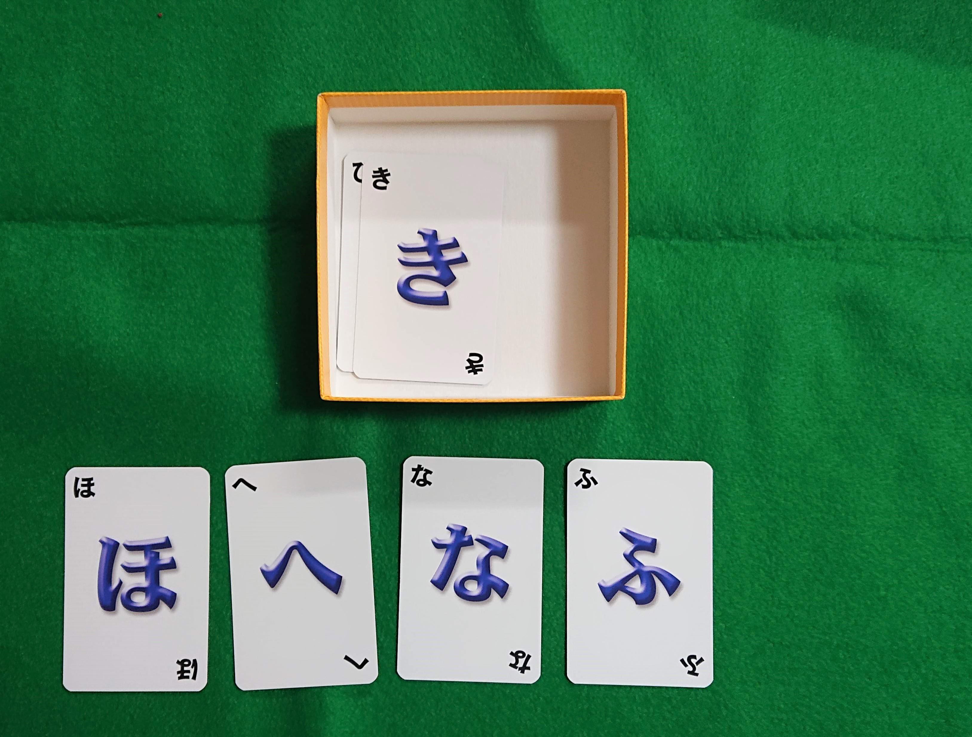 ワードバスケット ボードゲーム 言葉系カードゲーム 大勢で「しりとり」をしよう ルール説明