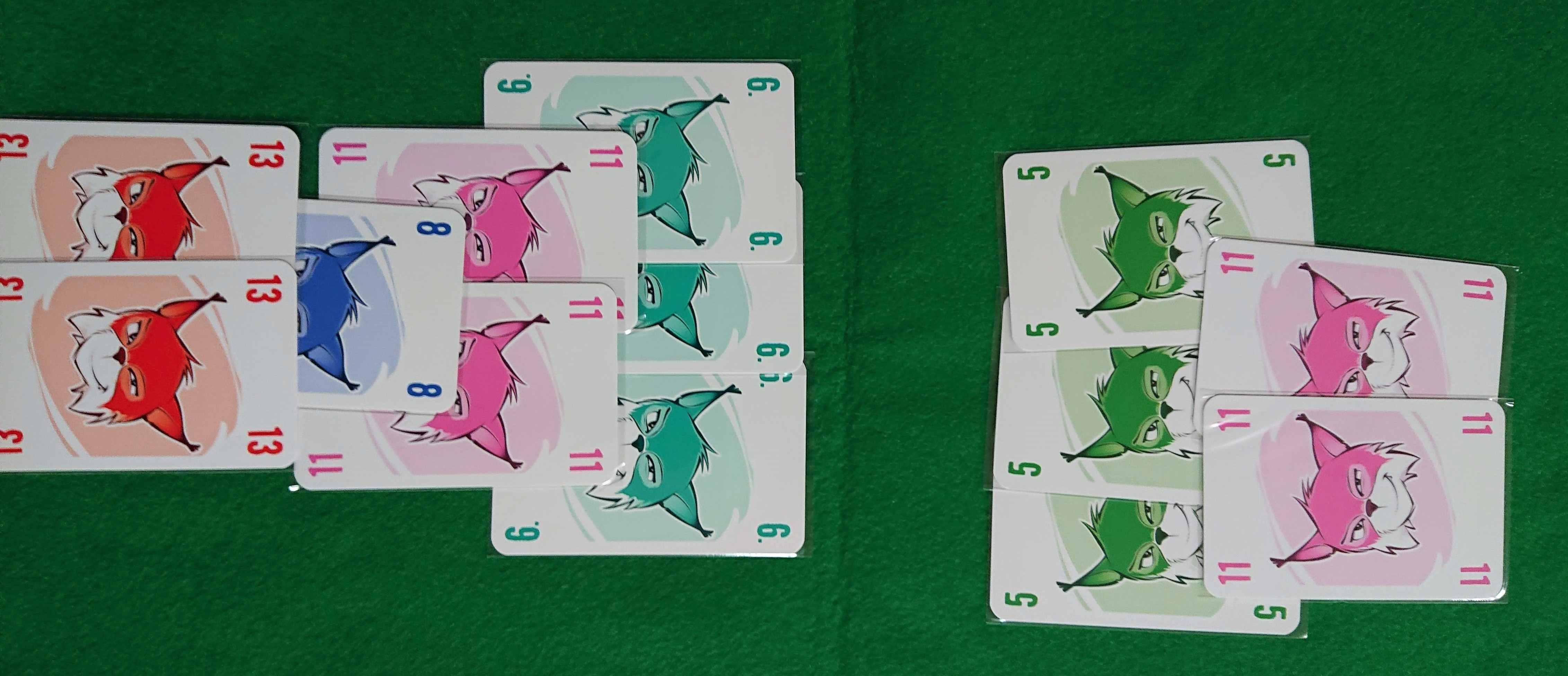 アブルクセン 傑作カードゲーム 相手を攻撃するのは得か損か? ボードゲーム