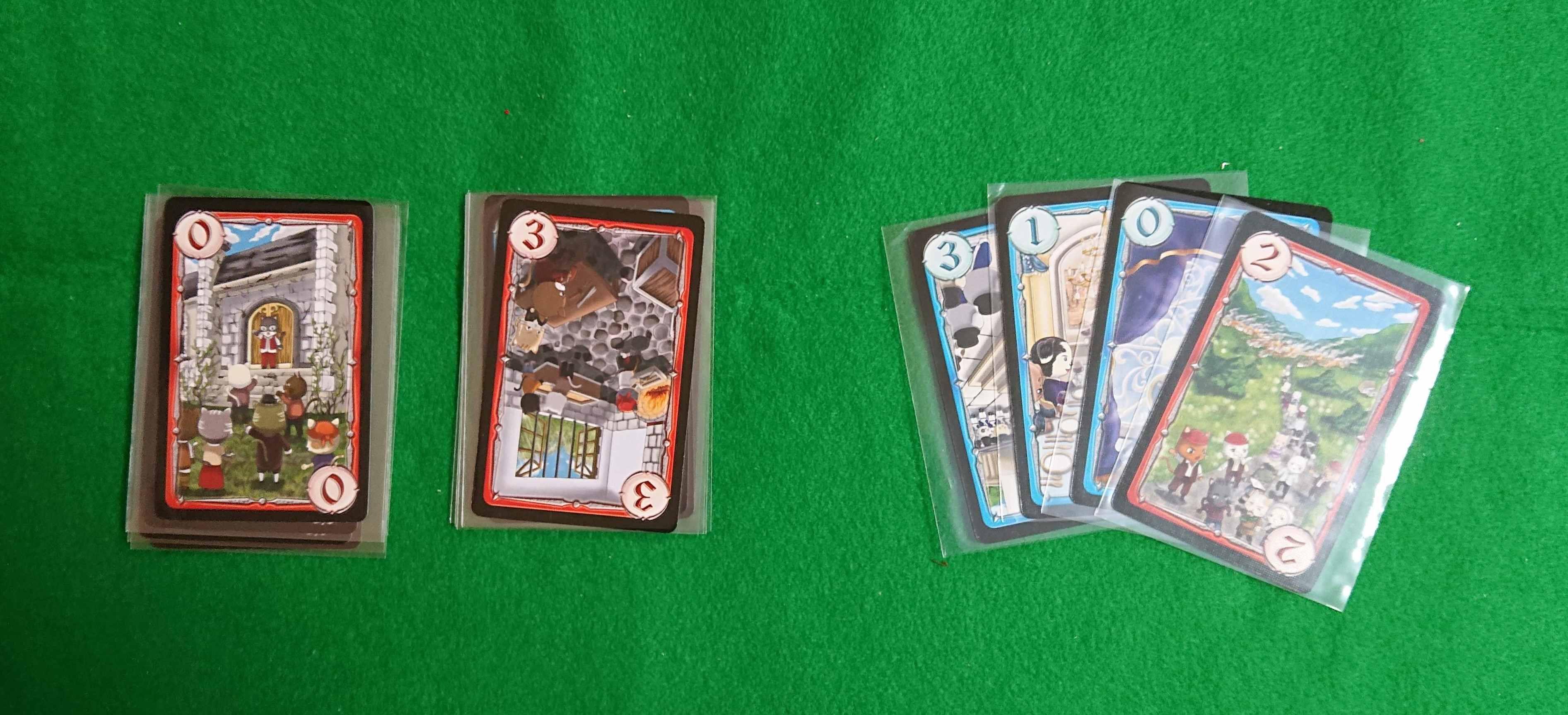 革命万歳 トリックテイク系カードゲーム 革命派・王宮派あなたはどっちにつく? ルール説明 ボードゲーム