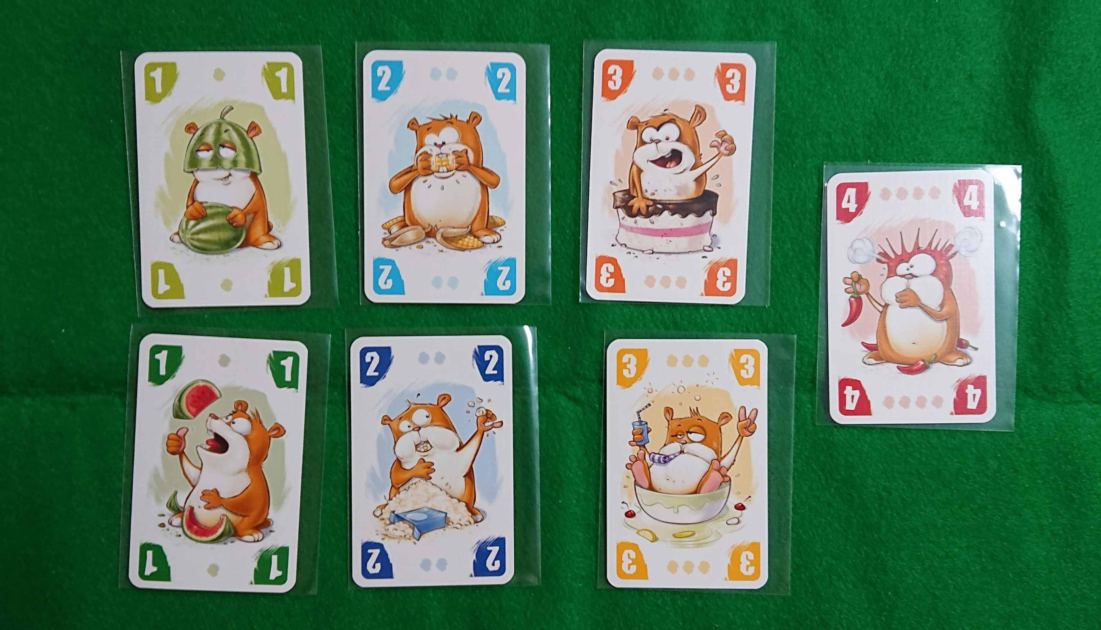 よくばりハムスター(Hamster Backe) セットコレクション系カードゲーム 食料を多く確保しないと!! ルール説明 ボードゲーム