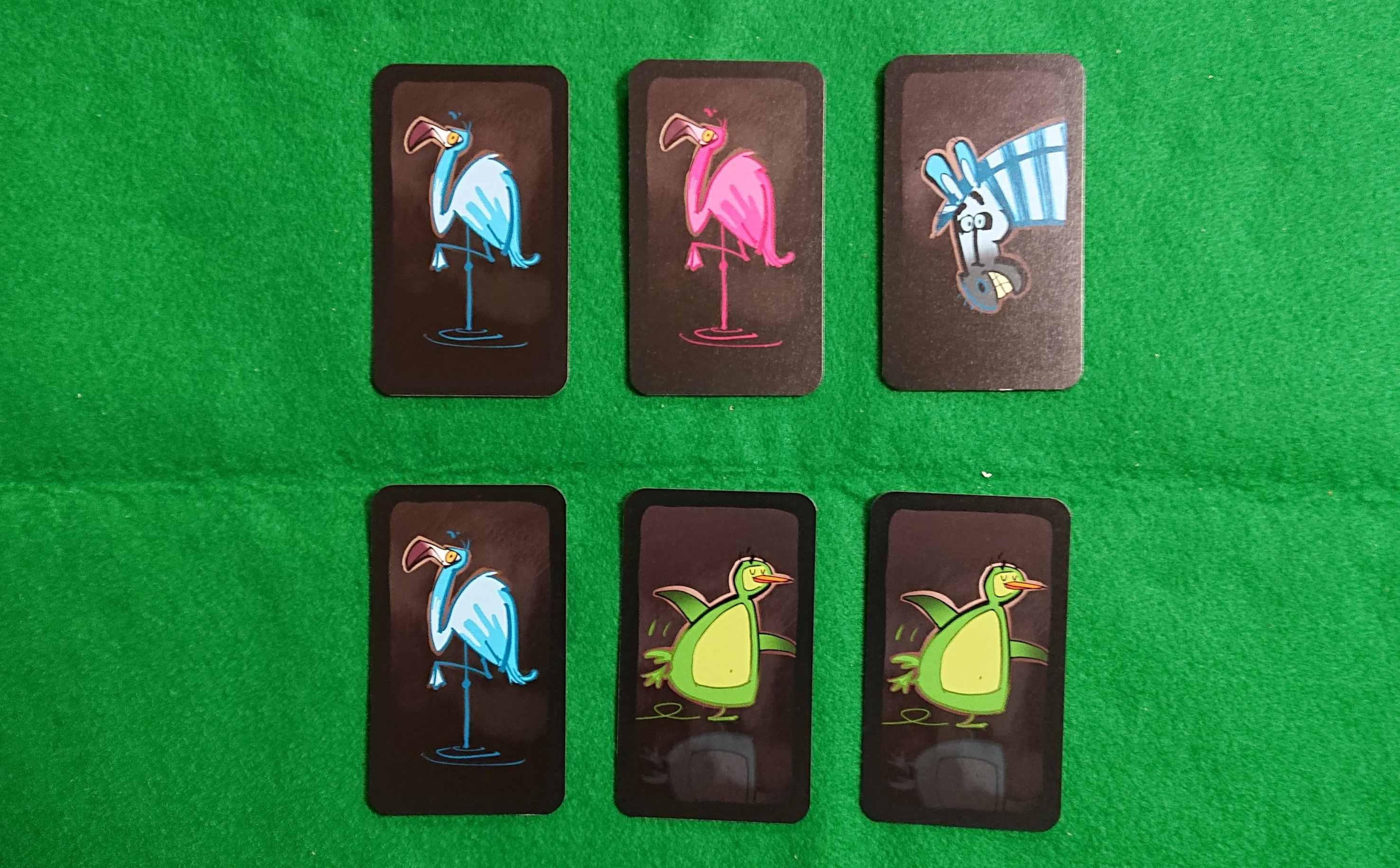 ドデリド(DoDeLiDo) 反射神経型の言葉系カードゲーム フラミンゴ!黄色!オ~ドデリド! ボードゲーム ルール説明