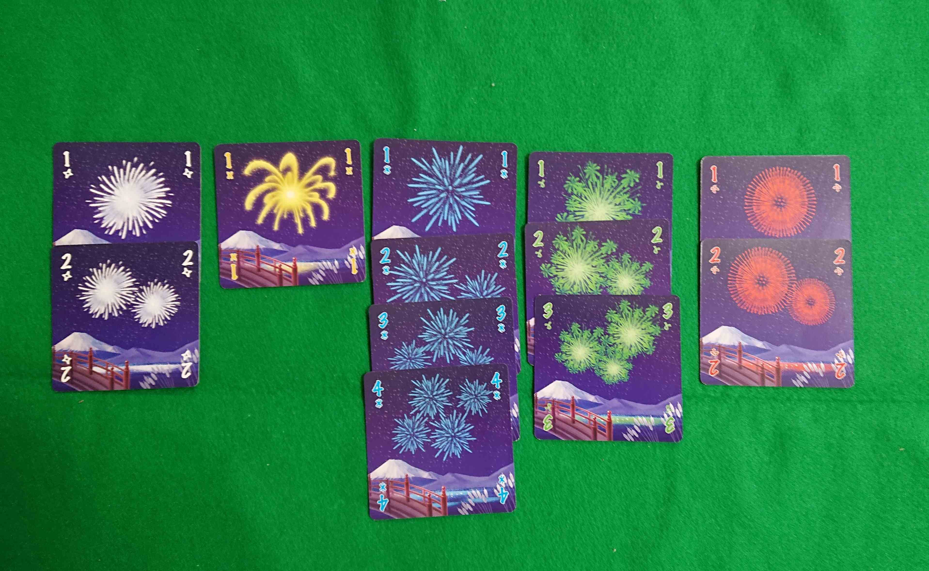 HANABI(花火)綺麗な花火打ち上げよう! カードゲーム