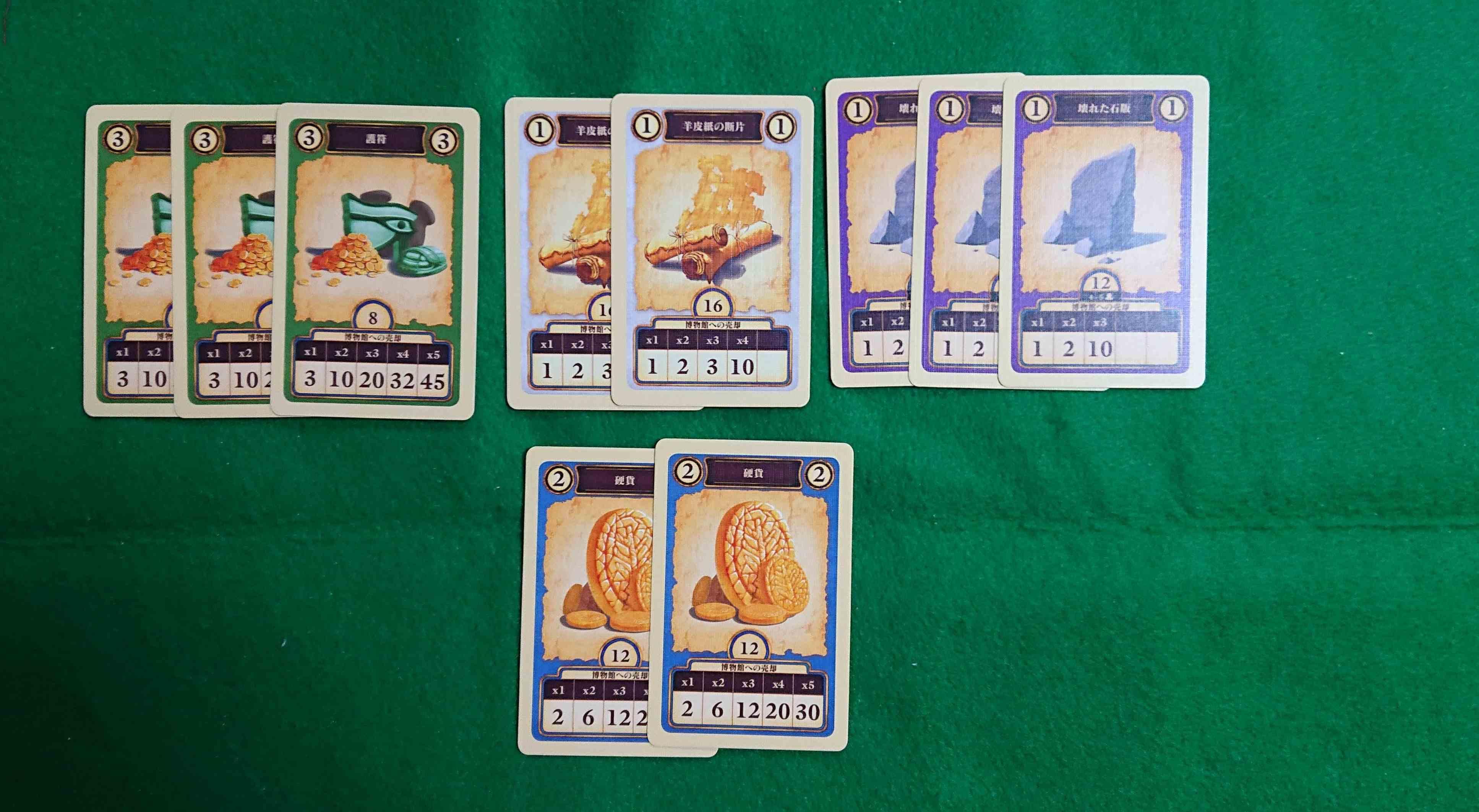 考古学者カードゲーム 嵐にも負けず盗賊にも負けず、財宝を探せ! ボードゲーム カードゲーム