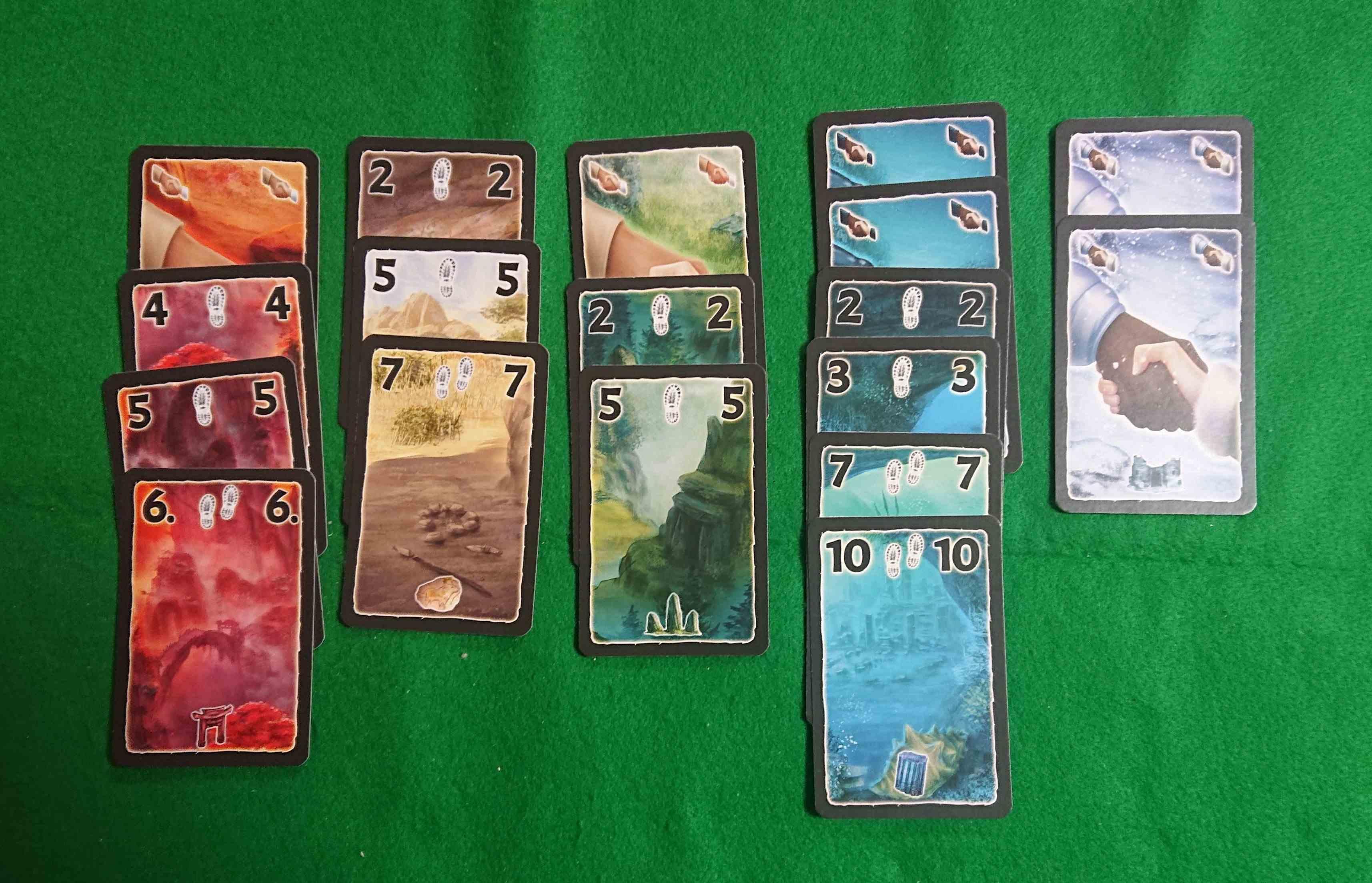 「ロストシティ ライバルズ」 競りが加わった「ロストシティ」です 4人までプレイ出来ます カードゲーム ボードゲーム