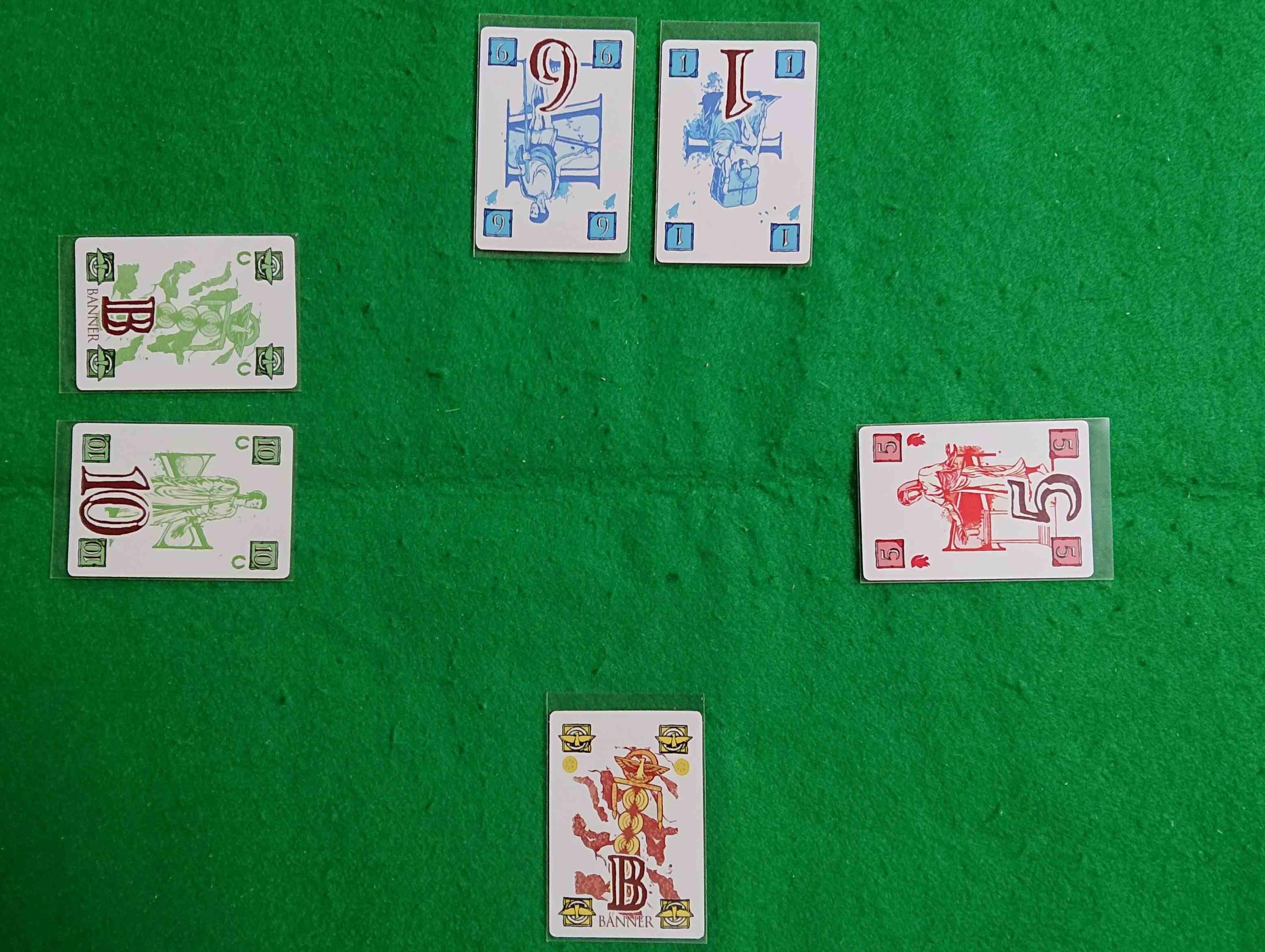スパルタクス(古代ローマの新しいゲーム) シンプルなルールながら切れ味鋭いトリックテイク系カードゲーム ボードゲーム