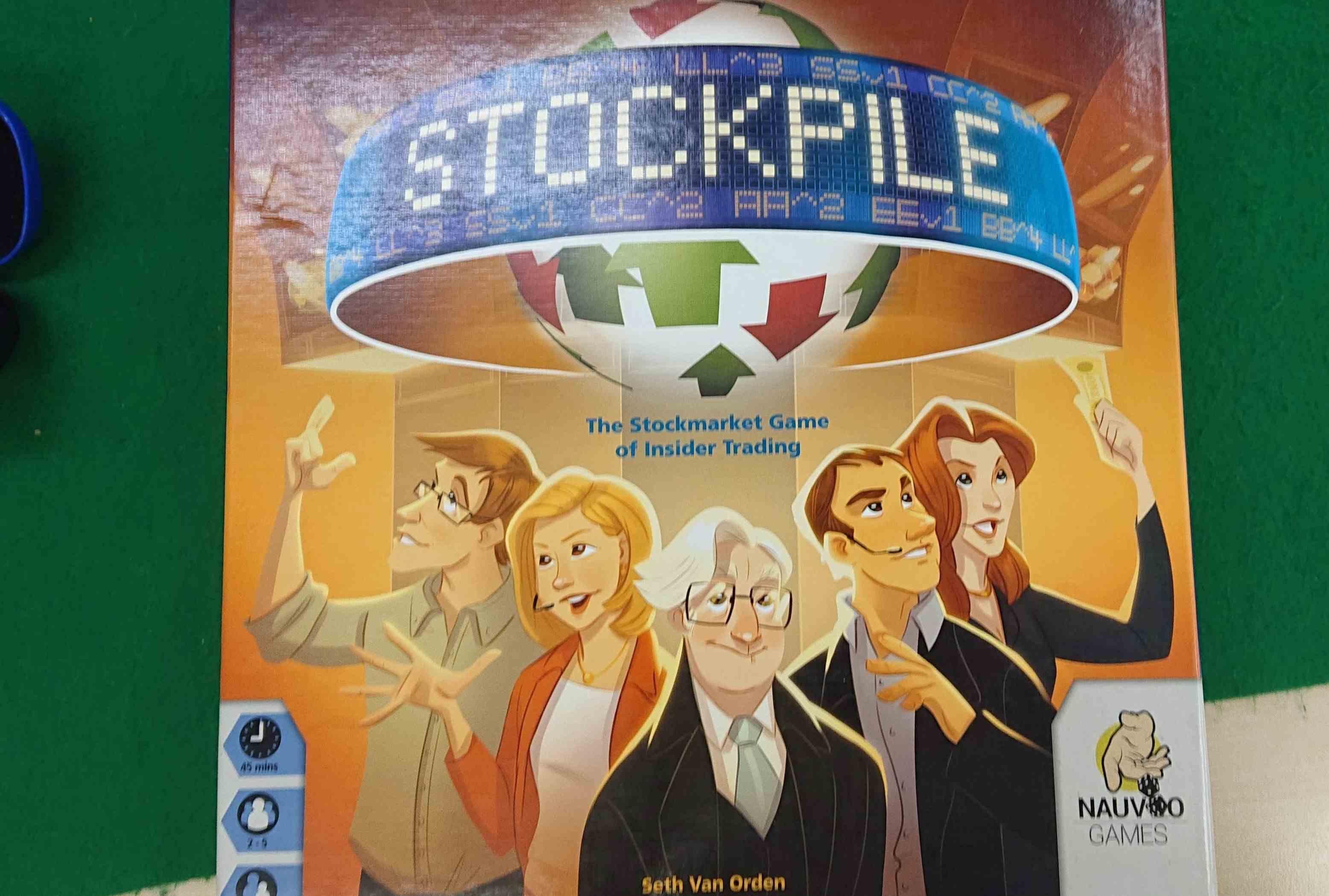 「POLIS(ポリス)」「STOCKPILE(ストックパイル)」 ボードゲーム会でプレイしたゲーム 感想