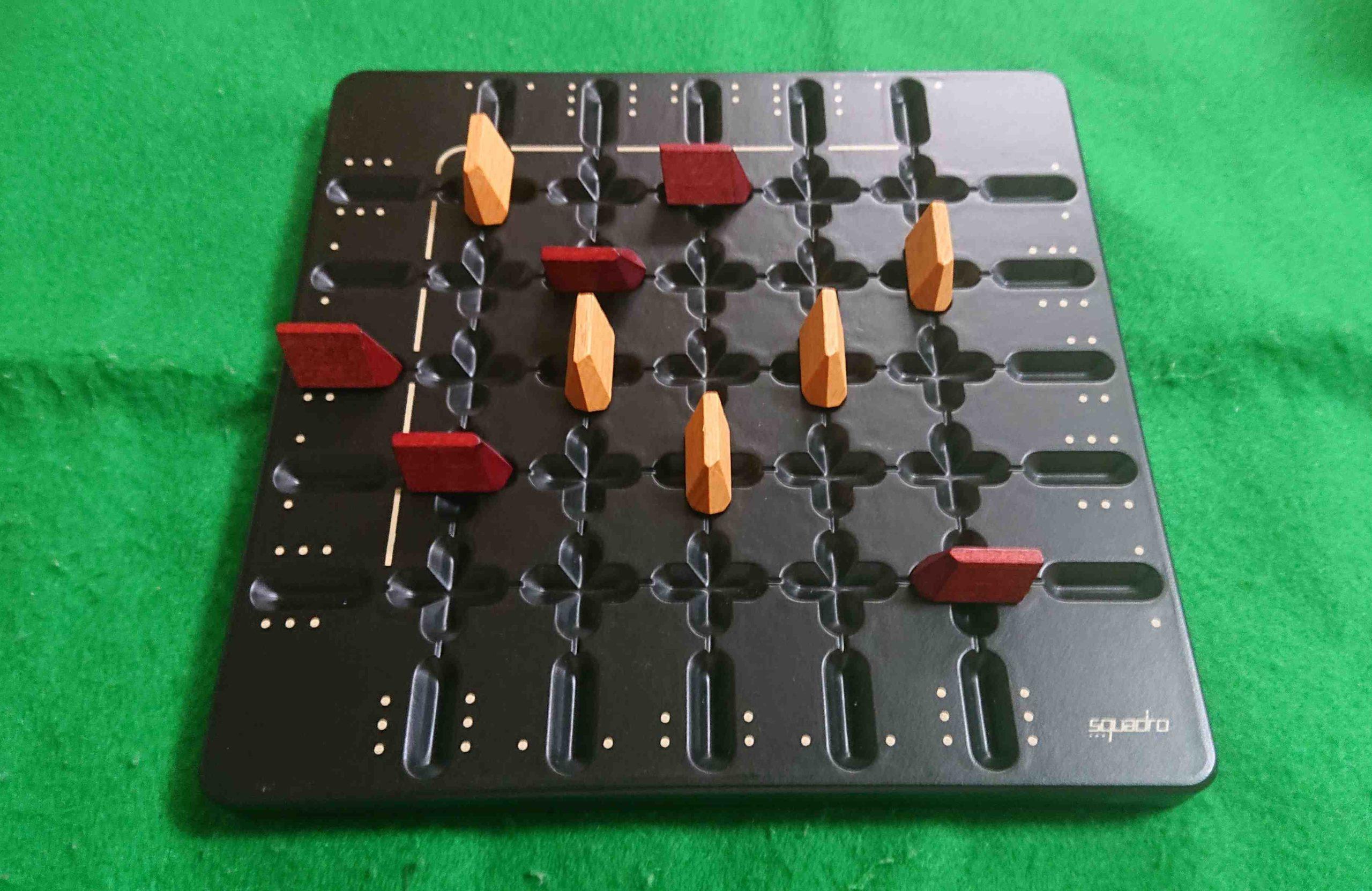 SQUADRO(スクアドロ) ルール&レビュー アブストラクト系 ボードゲーム