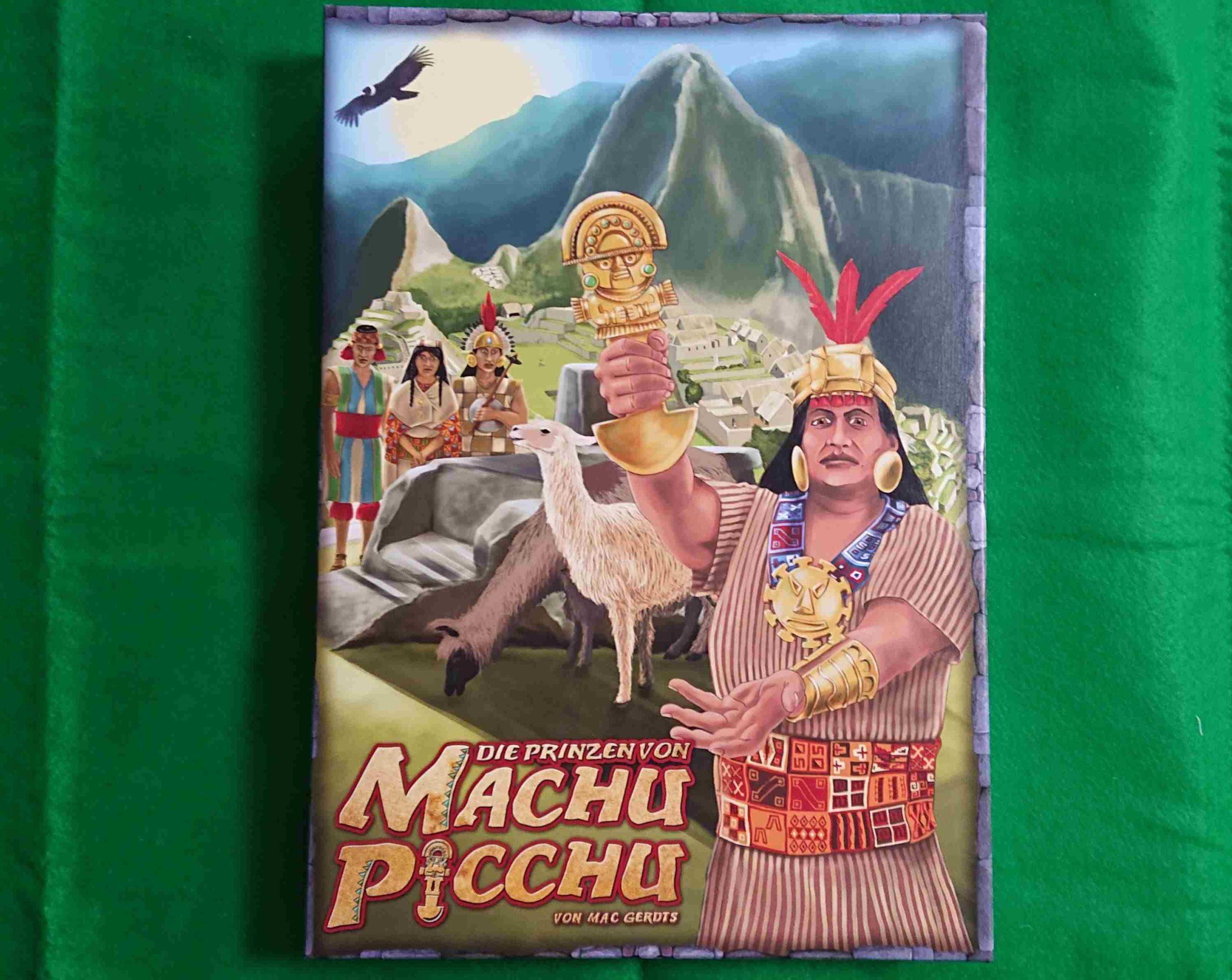 マチュピチュの王子 ルール&レビュー マチュピチュの街をスペインから守れ! マック・ゲルツの傑作 ボードゲーム