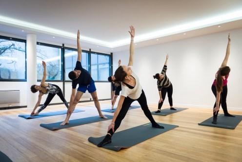 Yoga au Centre Qee Levallois