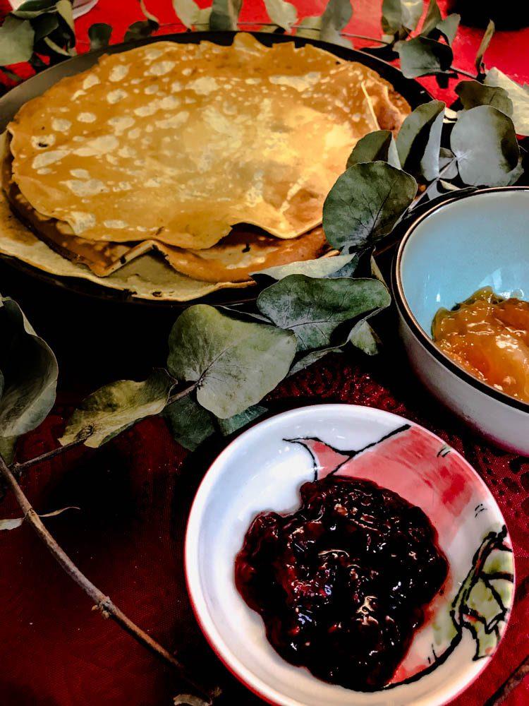 Crêperie parisienne et Recette de crêpe sans sucre et sans gluten bodyandfly