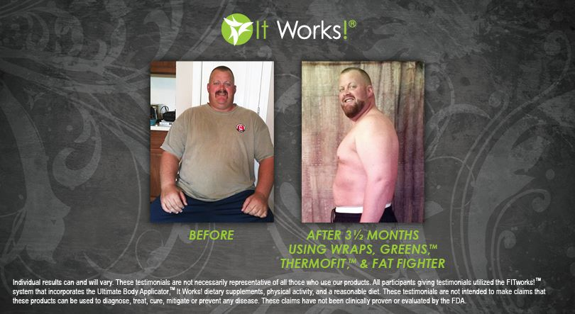 It Works For Men Too It Works Body Wraps