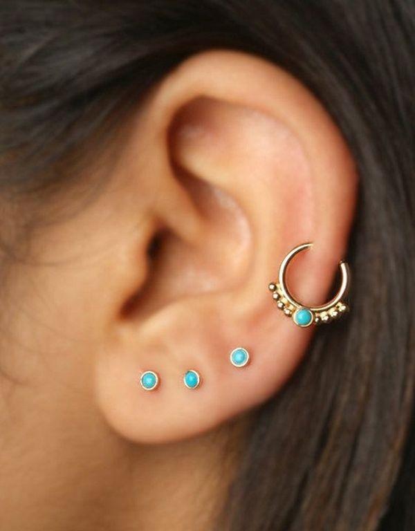 Helix piercing (3)