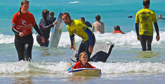 Birthday Party Bodyboard Groups
