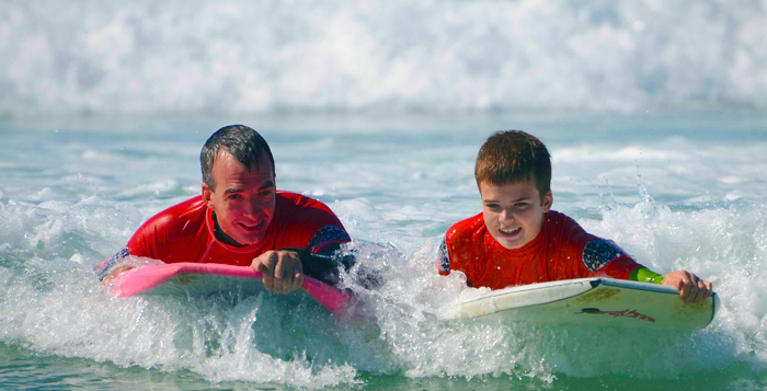 Family Bodyboard Lessons