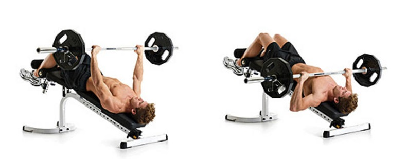 Image Result For Decline Bench Press Exercise