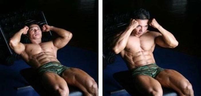 Decline Bench Sit Ups Bodybuilding Wizard