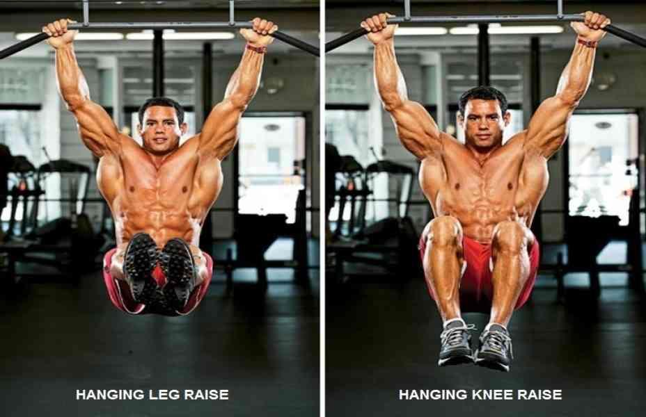 Image result for hanging leg raises