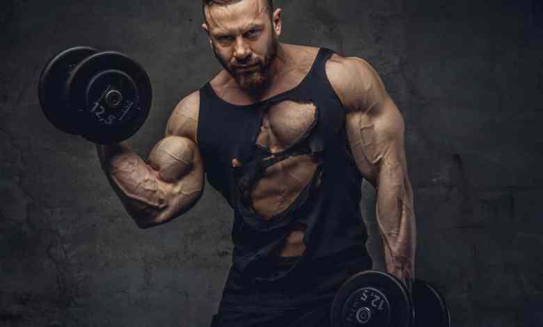 بناء العضلات في اسرع وقت