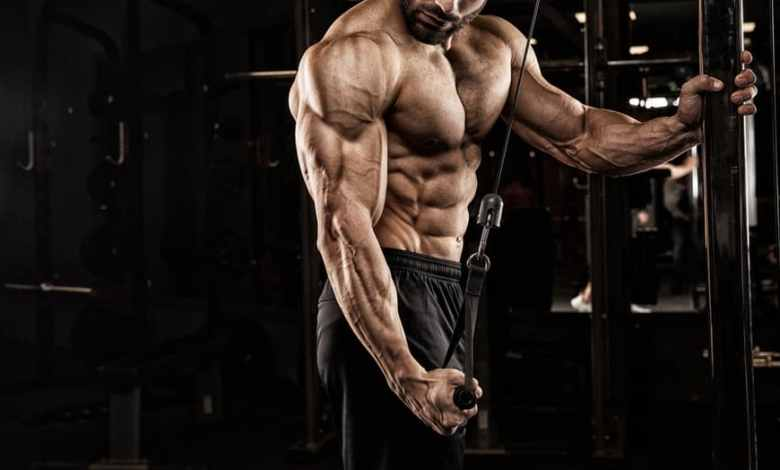 توقف نمو العضلات