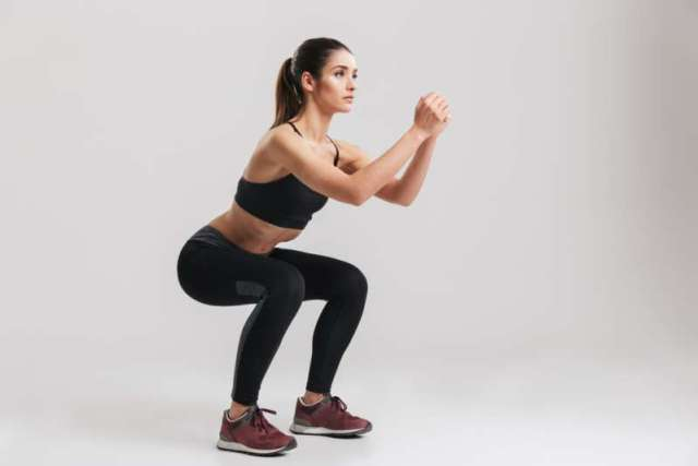 squat exercise for thighs