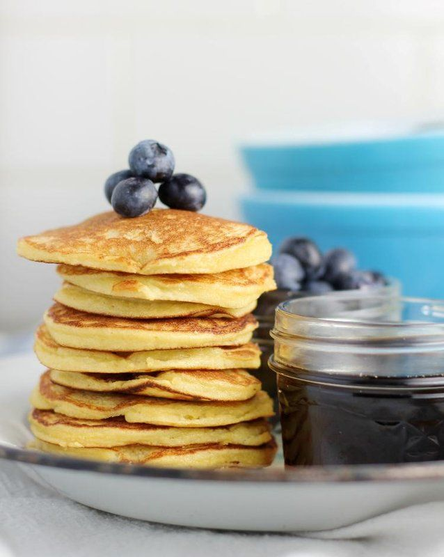 Almond and coconut pancakes