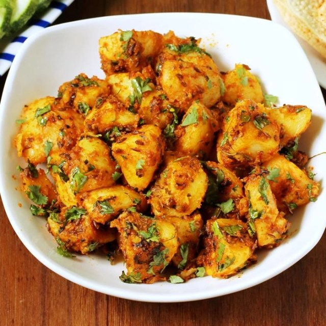 Tangy Indian Boiled Potatoes