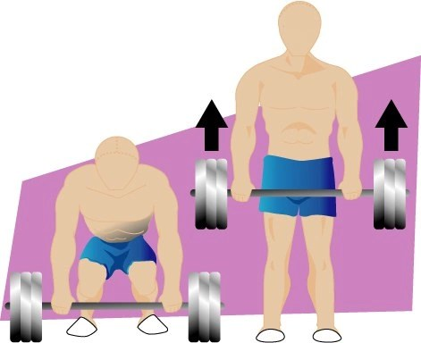 Deadlift for lose thigh fat