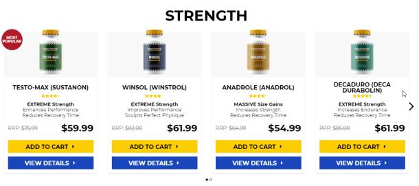 Anabolic steroids 2021