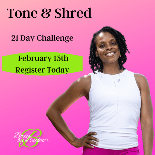 21 Day Tone & Shred Challenge