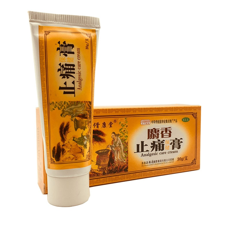 Traditional Chinese Analgesic Cream for Pain Relief