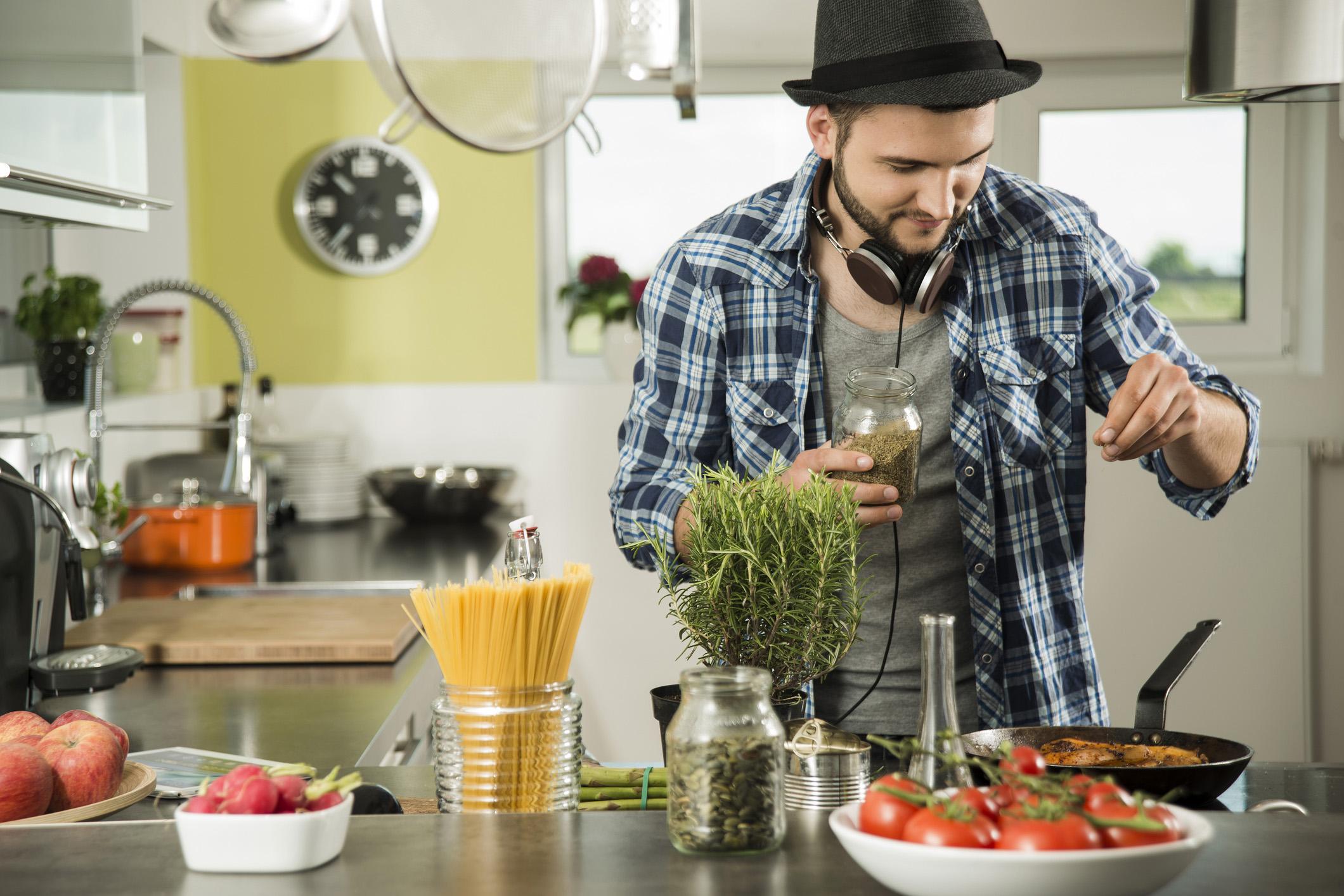 Gesunde Salatküche