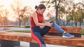 Muskelbeschwerden beim Laufen