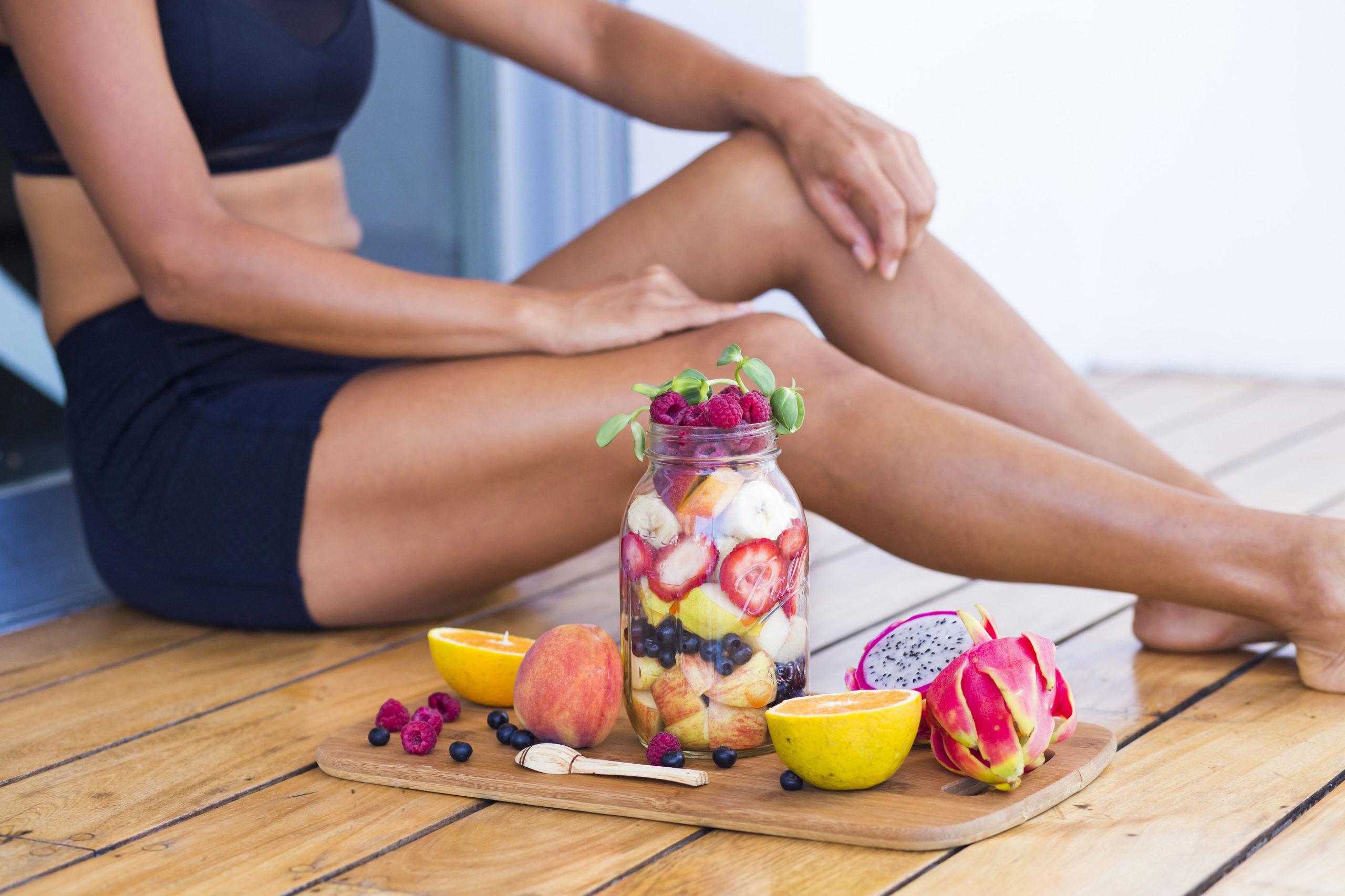 Gemüse und Obst für eine gesunde Ernährung