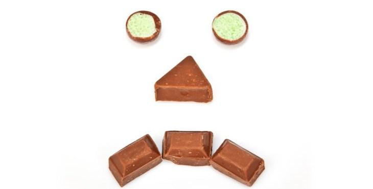 Schokolade macht unglücklich