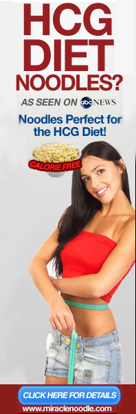 Miracle Noodles the Perfect HCG Diet Food