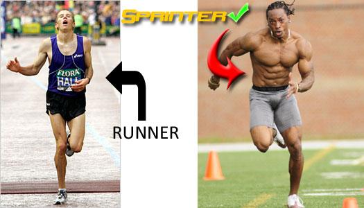 Sprinter vs Jogger