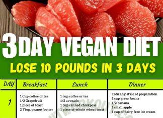 3 day military diet vegetarian
