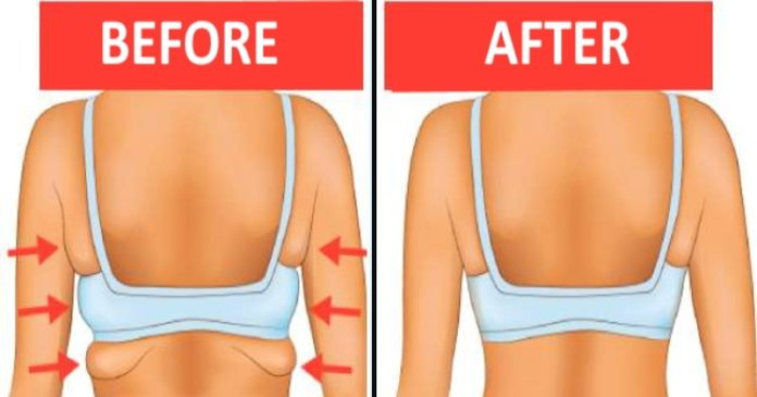 6 Workouts to Get Rid of Back and Armpit Fat in 20 Minutes