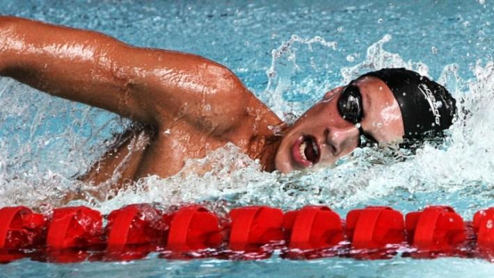 Trening pływacki.  WYTRZYMAŁOŚĆ